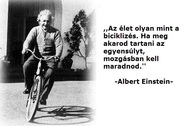 Albert Einstein egyensuly